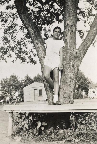 Bert at Camp Kenderwelt 1952