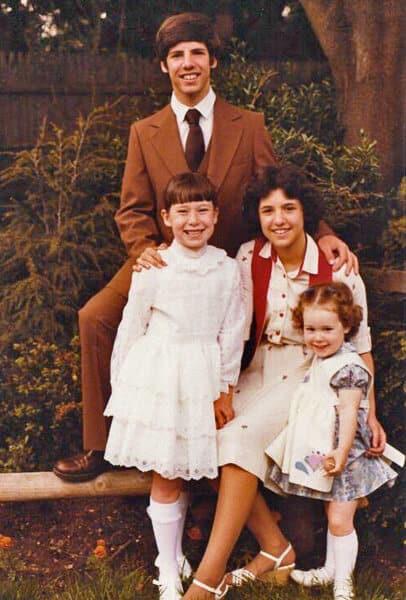 Alice's first Communion 1979