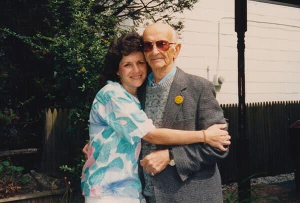 Linda & Papa 1980