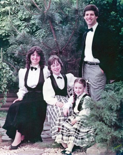Josh's high school graduation 1983