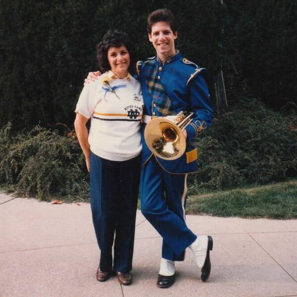 Linda & Josh South Bend 1983