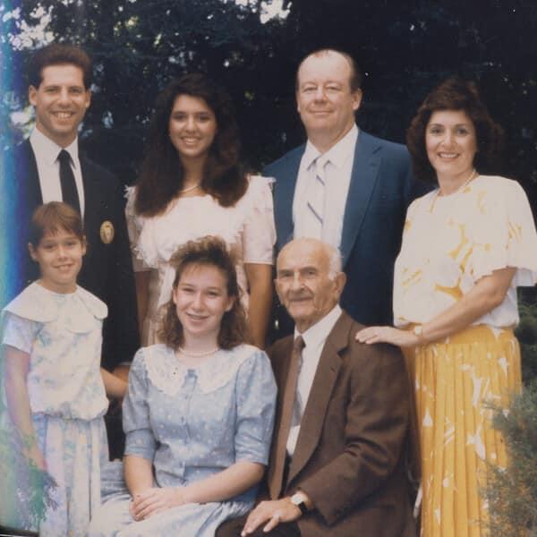 Josh's graduation 1987