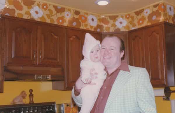 Susan & Ken in the kitchen