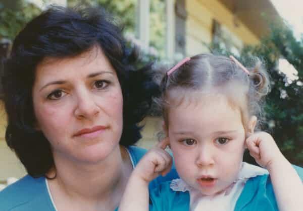 1980 Mom & Susan ailing