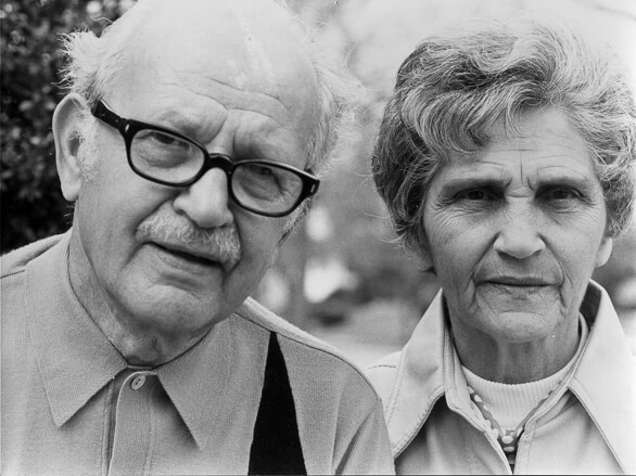 Aunt Esther (Poppa's sister) and Uncle Joe