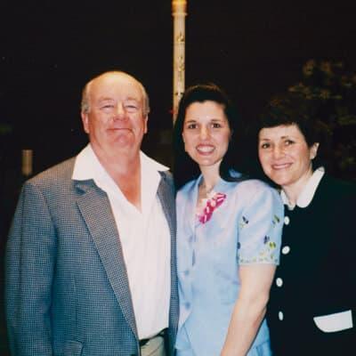 Liesl becomes Catholic 1999