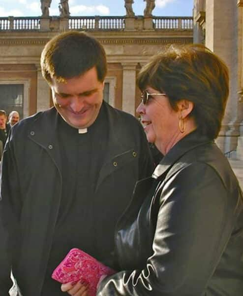 Fr Mike & MaryAnn Renninger Rome 2007