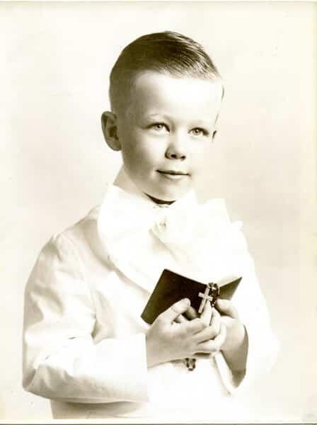 Ken's First Holy Communion