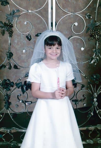 Becca's 1st Communion