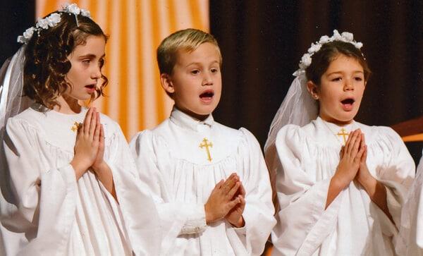 Lucy's 1st Communion