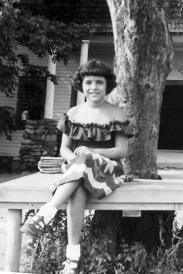 Linda at Camp Kinderwelt 1952