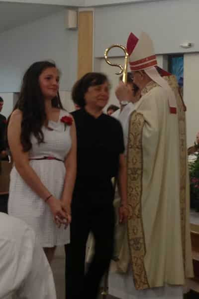 Becca's confirmation 2014