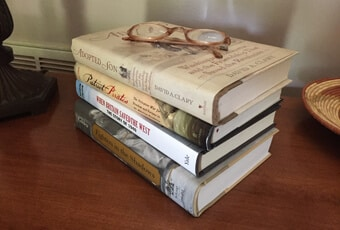 These were Ken's final books shipped from the History Book Club. He never read them.